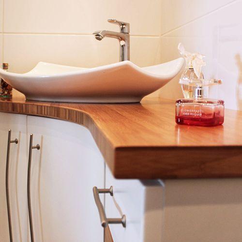 Meubles de salle de bain d 39 angle born o atlantic bain for Solde meubles salle de bain