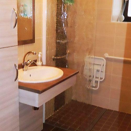 Pmr 70 1v meuble atlantic bain - Salle de bain pmr ...