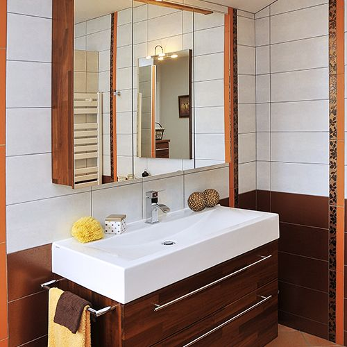 miroir triptyque pour salle de bain atlantic bain. Black Bedroom Furniture Sets. Home Design Ideas