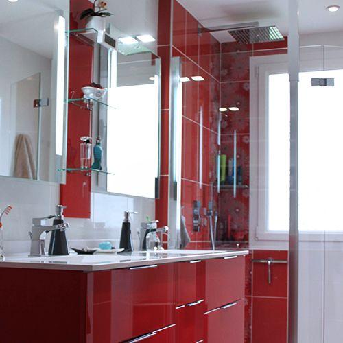 Meubles de salle de bain contemporain atlantic bain - Meuble salle de bain design contemporain ...