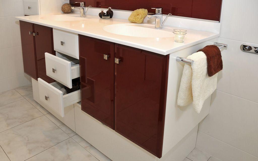 Meubles de salle de bain b ton cir atlantic bain for Ou trouver meuble salle de bain
