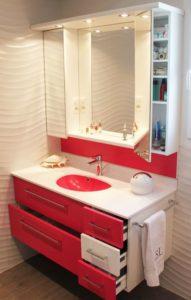 Deux meubles pour le moins color atlantic bain - Rangement entre deux meubles ...
