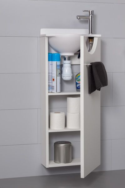 Nouvelle collection lave mains mikro atlantic bain - Meuble lavabo wc ...