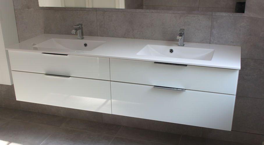 Meuble de salle de bain design et intemporel atlantic bain for Meuble de salle bain design