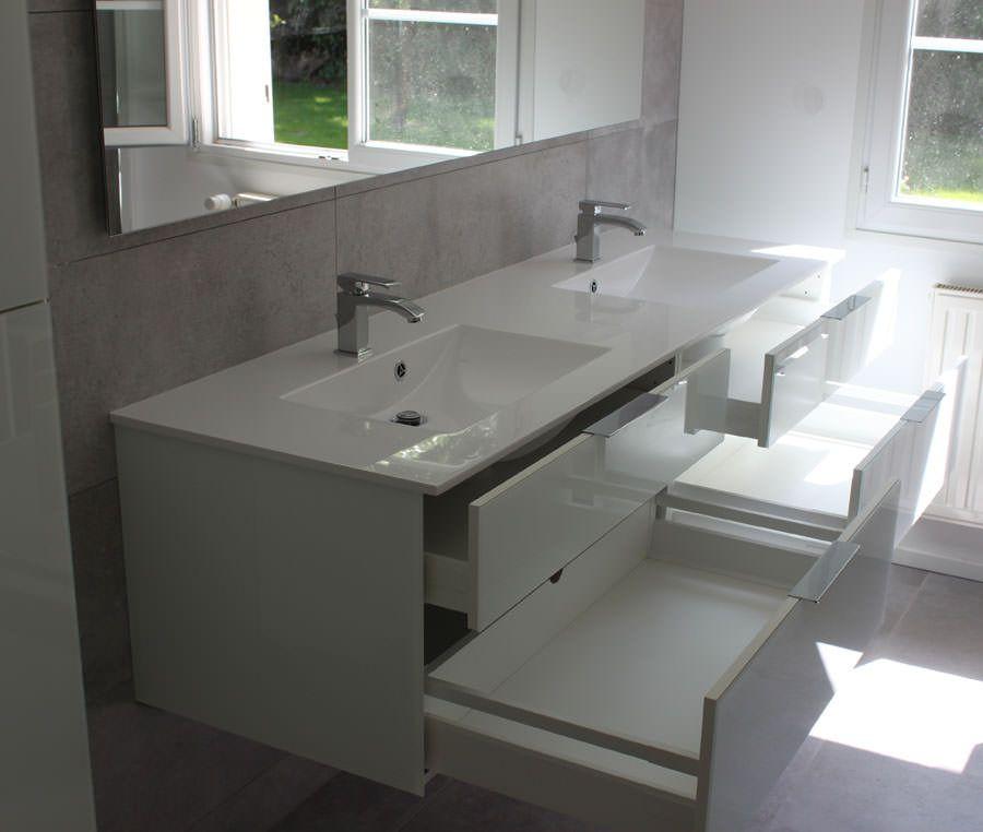Renover meuble salle de bain maison design - Renover salle de bains ...