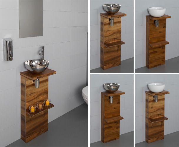 Meuble sous lave main bois table de lit for Meuble sous lave mains