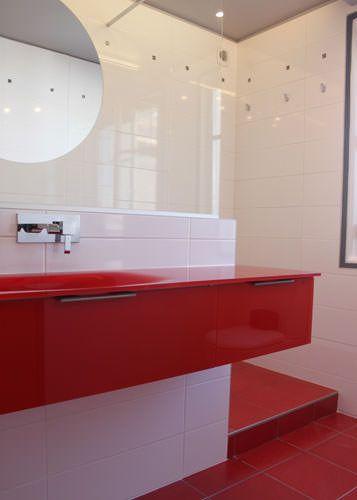 Meuble de salle de bain original et pur atlantic bain - Poignee de meuble originale ...