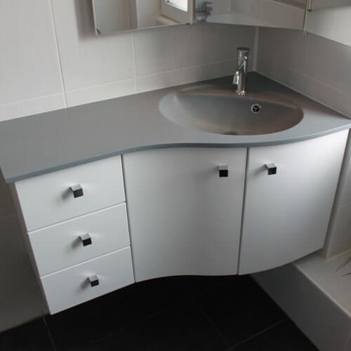 meubles salle de bain plan en r sine vasque moul e atlantic bain. Black Bedroom Furniture Sets. Home Design Ideas