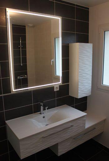 Lapeyre meuble salle de bain faible profondeur salle de - Meuble salle de bain faible profondeur ...