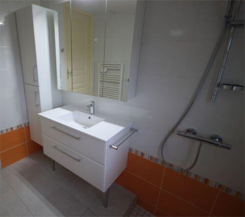 Cr er un agencement simple fonctionnel et moderne dans for Toilette petite surface