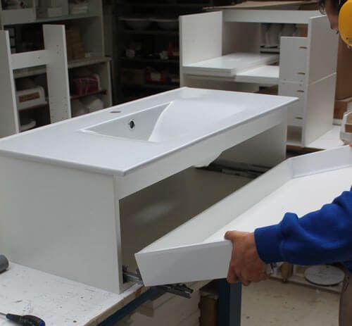 de la conception l 39 installation une commande sur atlantic atlantic bain. Black Bedroom Furniture Sets. Home Design Ideas