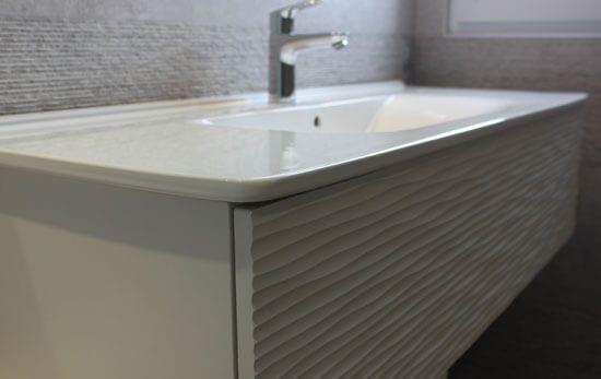 Modulable et moderne le meuble d cal pour la salle de - Vasque sur meuble ...