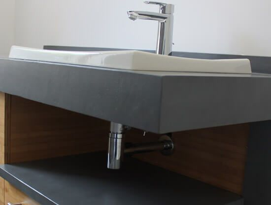 Beton cire salle de bain prix maison design for Prix lavabo salle de bain