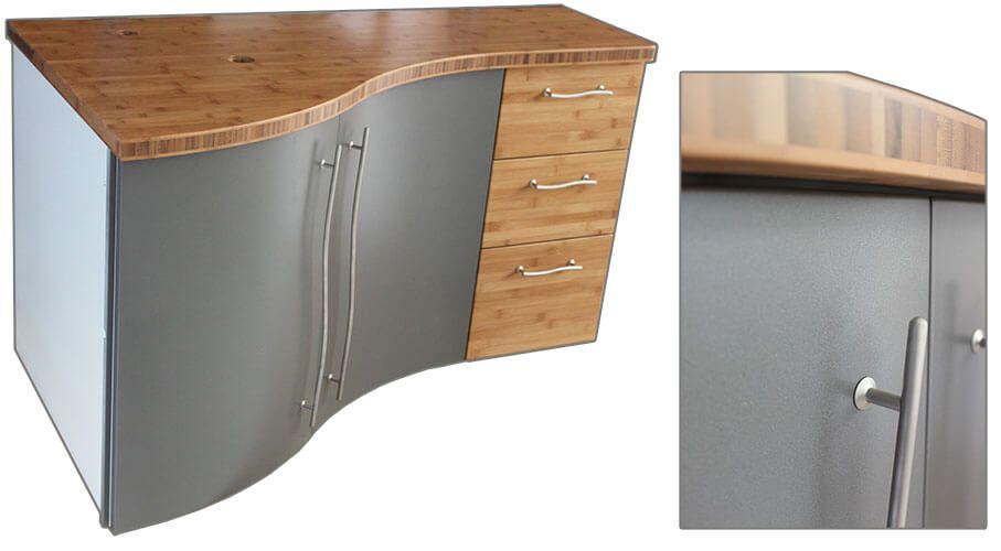 finitions originales pour ce meuble d 39 angle suspendu atlantic bain. Black Bedroom Furniture Sets. Home Design Ideas