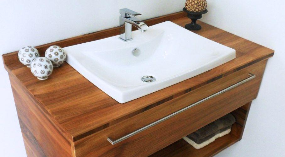 Meuble de salle de bain Zen Maronnier vasque