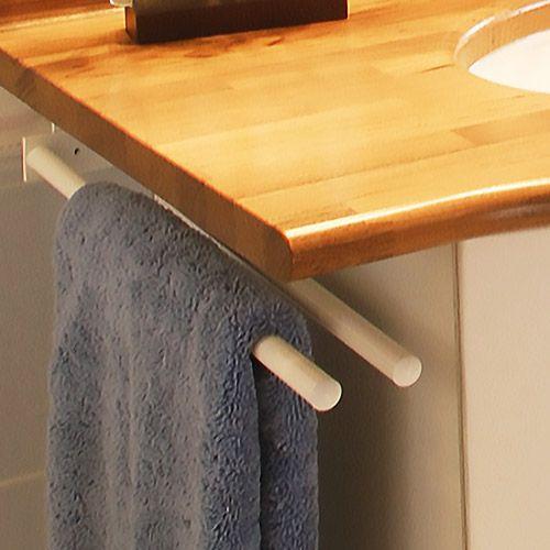Porte serviette t lescopique 46 atlantic bain for Porte serviette coulissant salle de bain