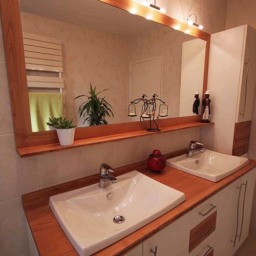 Meuble salle de bain plan en bois atlantic bain for Meuble salle de bain classique