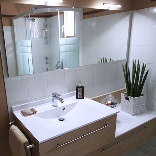Lou meuble contemporain atlantic bain for Ou trouver meuble salle de bain