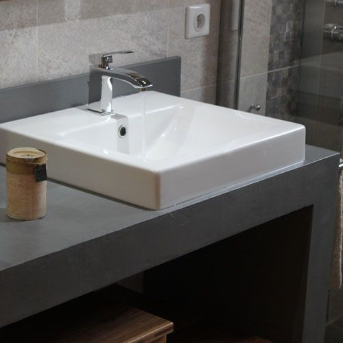 Plans de toilette atlantic bain for Salle de bain wedi