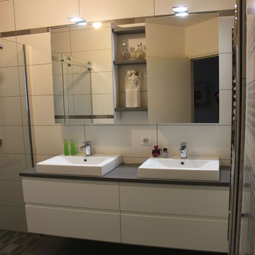 Meubles de salle de bain contemporain atlantic bain for Meuble salle de bain but