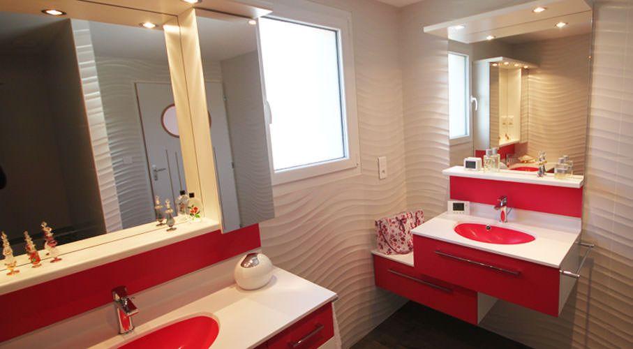 Deux meubles pour le moins color atlantic bain for Meuble de salle de bain deux portes