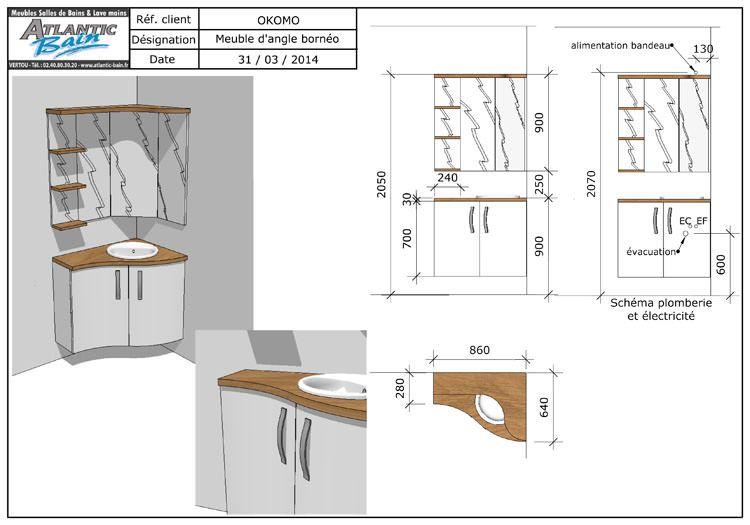 Comment se passe une commande de meuble sur atlantic for Plan pour faire une salle de bain