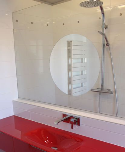 Meuble de salle de bain original et pur atlantic bain for Miroir urban