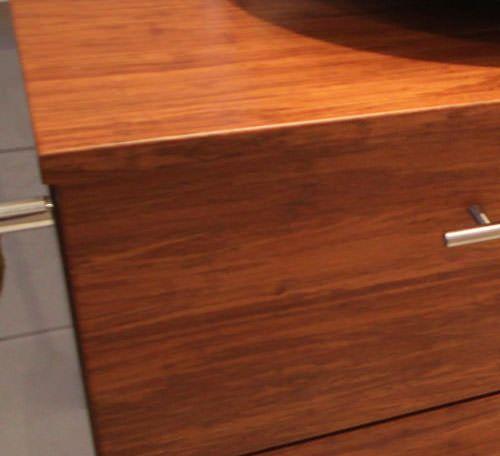 Meuble zen en bambou sur mesure atlantic bain for Vernis pour meuble salle de bain