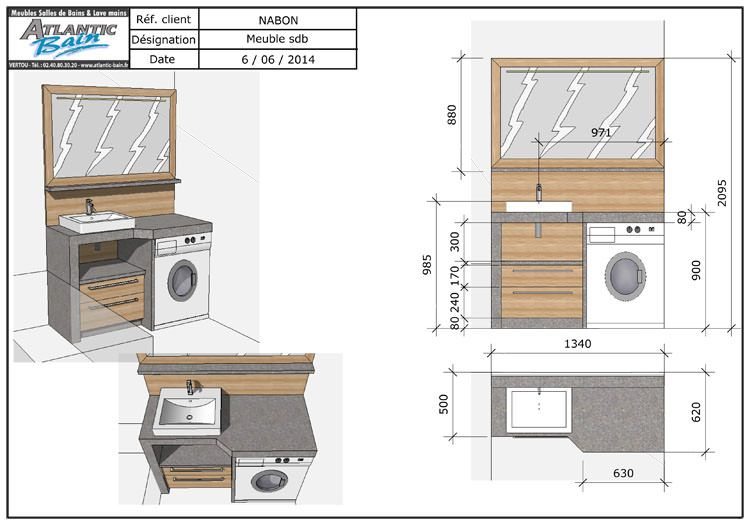 installer plan de travail sur machine a laver maison design. Black Bedroom Furniture Sets. Home Design Ideas