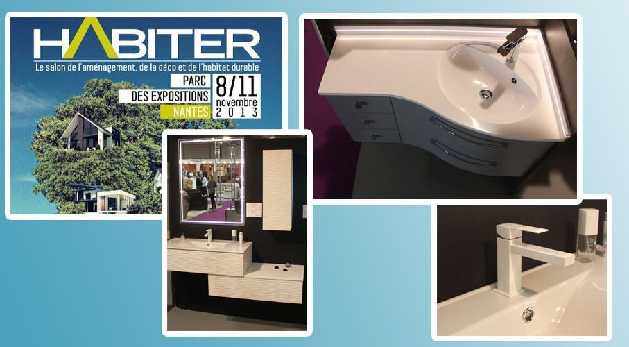 atlantic bain au salon habiter 2014 nantes atlantic bain. Black Bedroom Furniture Sets. Home Design Ideas