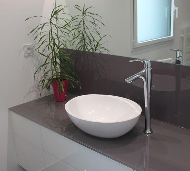ensemble de salle de bains design et epur en verre atlantic bain. Black Bedroom Furniture Sets. Home Design Ideas