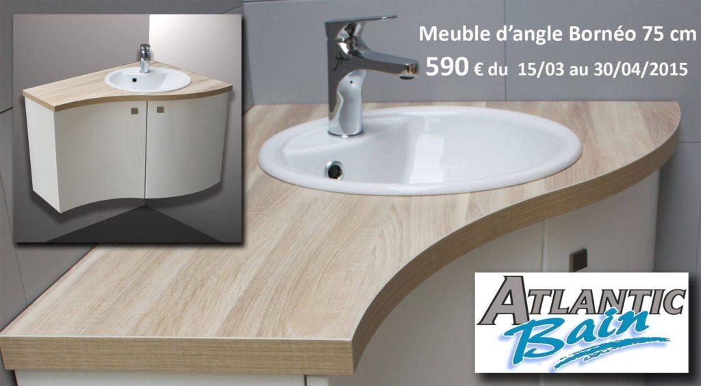Offre sp ciale printemps meuble salle de bains d 39 angle for Ou trouver meuble salle de bain