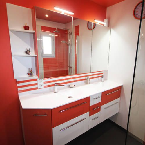 Meubles de salle de bain Contemporain - Atlantic Bain