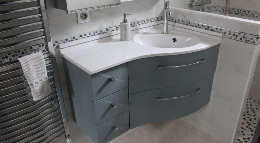 Meuble DAngle Salle De Bain  Atlantic Bain