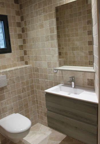 un meuble angle ouvrant dans une petite salle de bain atlantic bain