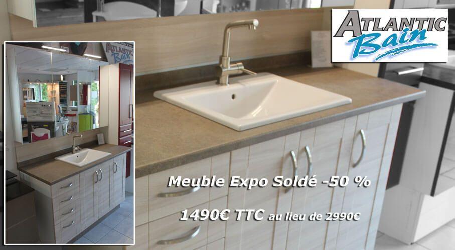 Meuble de salle de bain expo de 140 cm sold 50 for Expo salle de bain