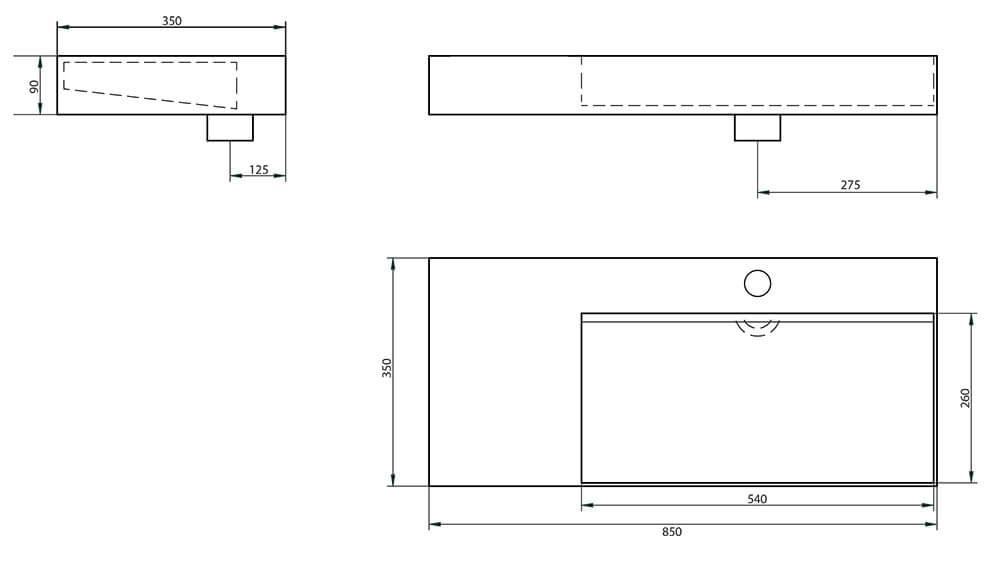 un meuble bambou originale et un lavabo en c ramique design atlantic bain. Black Bedroom Furniture Sets. Home Design Ideas
