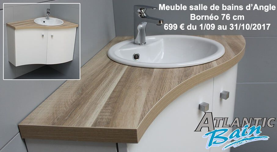 meuble d 39 angle salle de bain atlantic bain. Black Bedroom Furniture Sets. Home Design Ideas