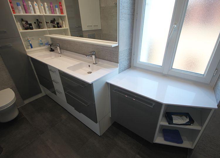 Optimiser le rangement dans votre salle de bain atlantic bain - Joint pour salle de bain ...