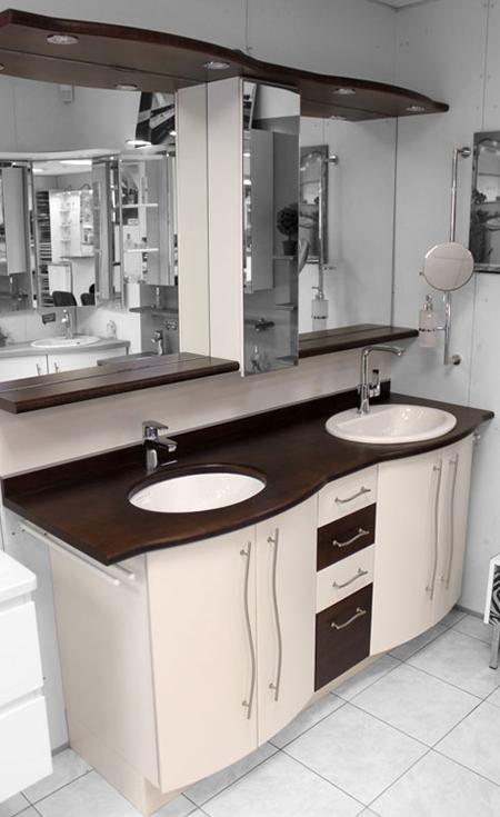 meubles de salle de bain en promo atlantic bain. Black Bedroom Furniture Sets. Home Design Ideas