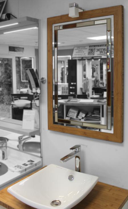 meuble salle de bain bambou 72 cm destockage modele expo atlantic bain. Black Bedroom Furniture Sets. Home Design Ideas