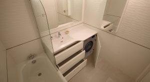meuble-lave-linge-plan-vasque-moule-resine