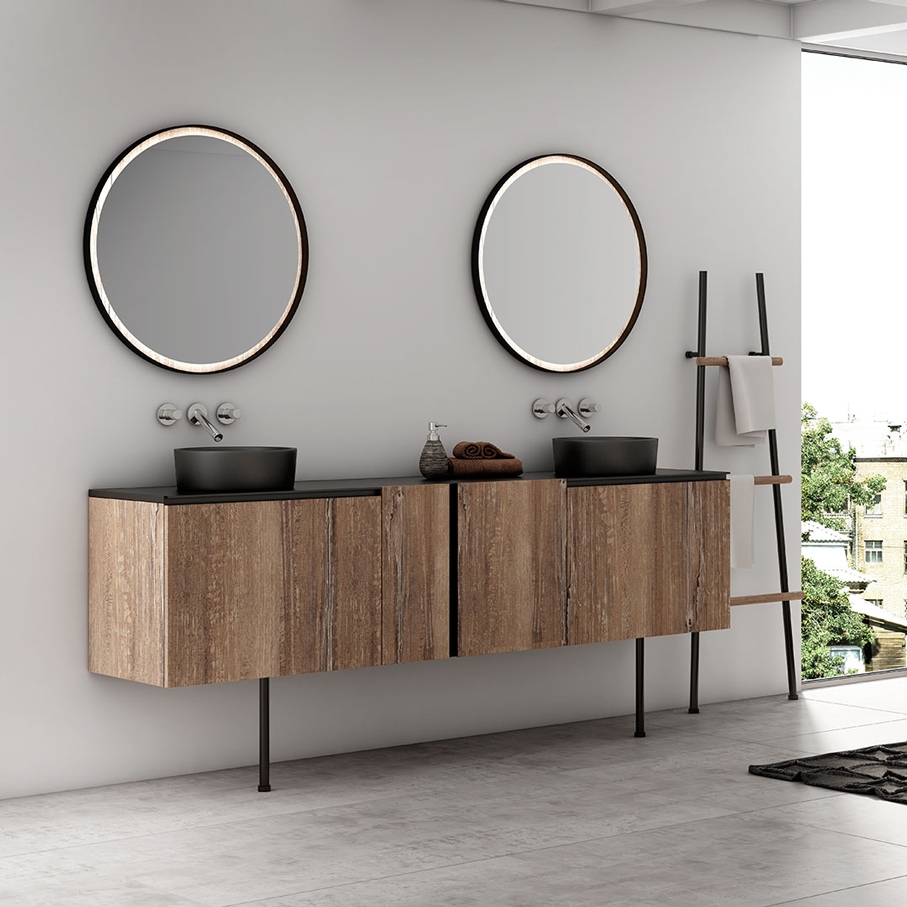 meubles de salle de bain contemporain atlantic bain. Black Bedroom Furniture Sets. Home Design Ideas