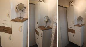 colonne-salle-bain-tiroirs-portes-blanc-bois