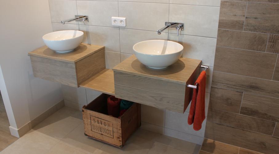 Meuble salle de bain en bois massif - Atlantic Bain