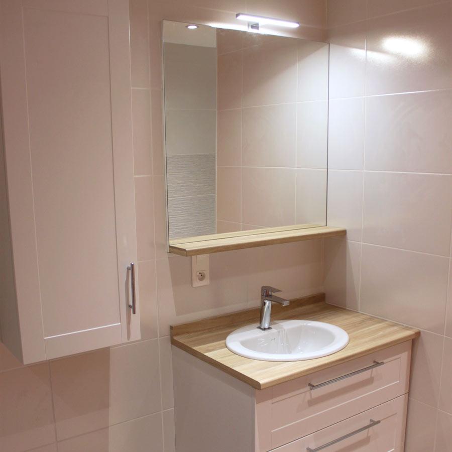 meuble 85 cm pour petite salle de bains