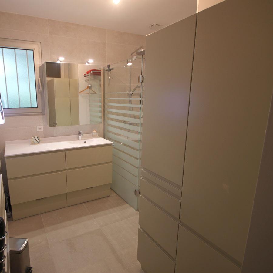 meubles avec rangements salle de bains