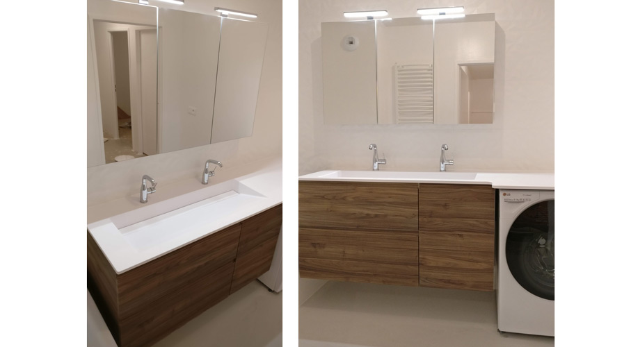 grande armoire toilette 3 portes