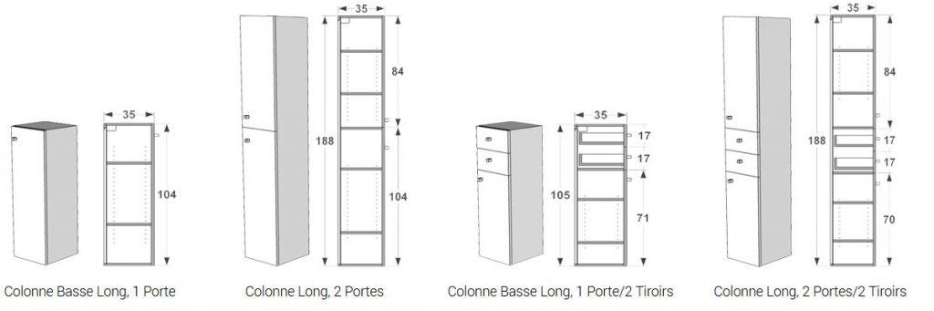 Les Rangements Complementaires Atlantic Bain