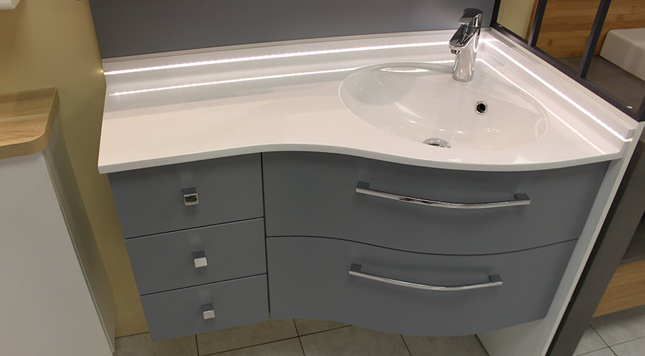 meuble coin salle bain 2 profondeurs